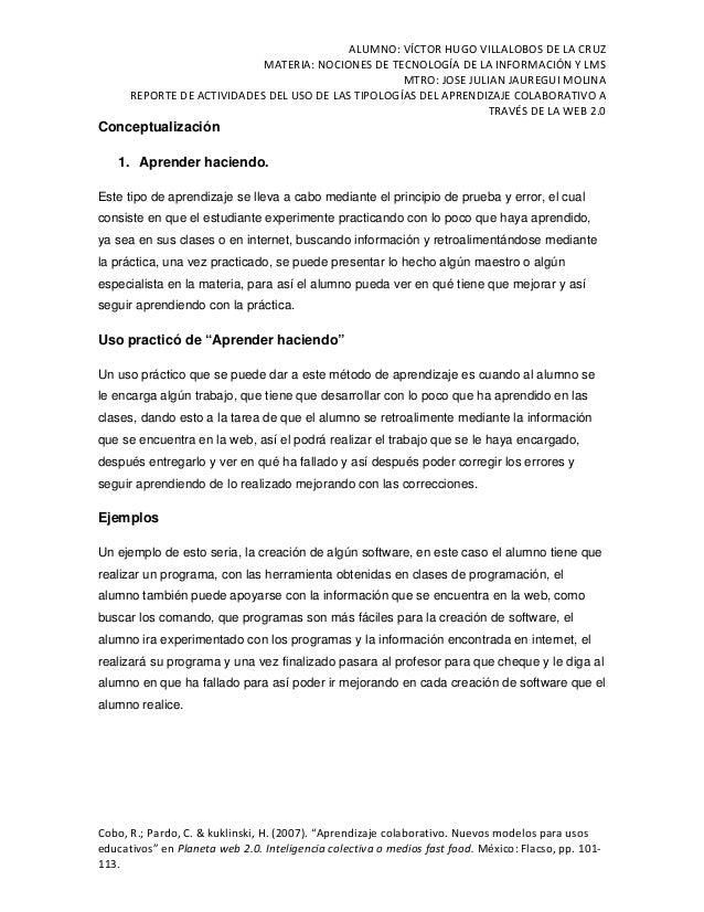 ALUMNO:VÍCTORHUGOVILLALOBOSDELACRUZ MATERIA:NOCIONESDETECNOLOGÍADELAINFORMACIÓNYLMS MTRO:JOSEJULIANJAUR...