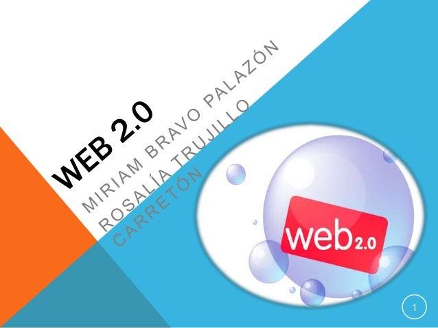 Web 2. Miriam y Rosalía