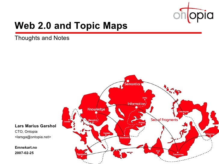 Web 2.0 and Topic Maps