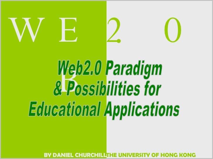 Web2.0 Daniel Church