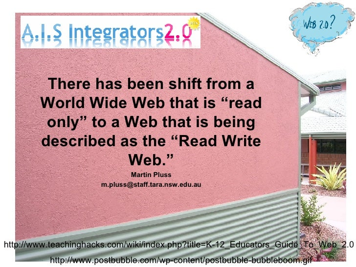 Web2.0 Integrators November 06