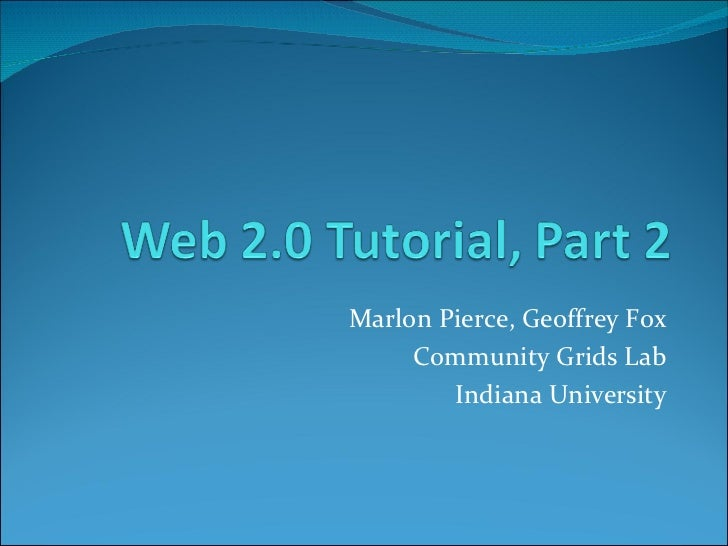 CTS Conference Web 2.0 Tutorial Part 2