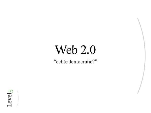 Web2.0 voor de NHL