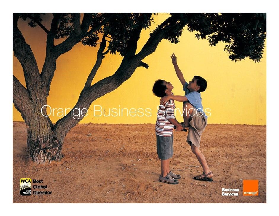 Orange Business Services     1   some rights reserved - CC 2008 - visionarymarketing.com - Yann A. Gourvennec