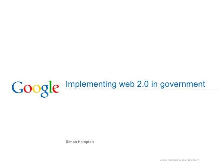Simon Hampton - Google