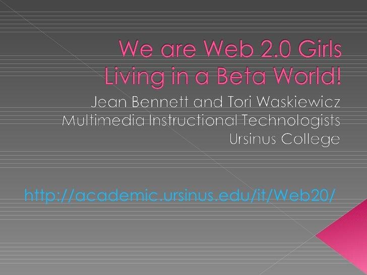 http://academic.ursinus.edu/it/Web20/