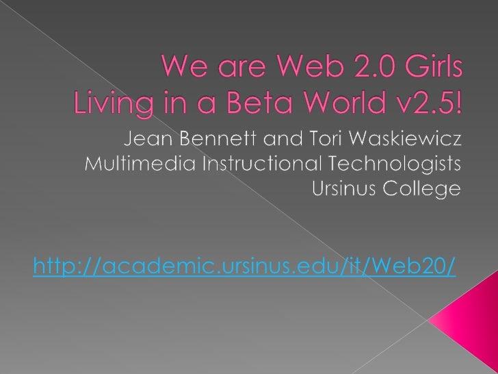 Web20 Girls Living Beta Worldv25