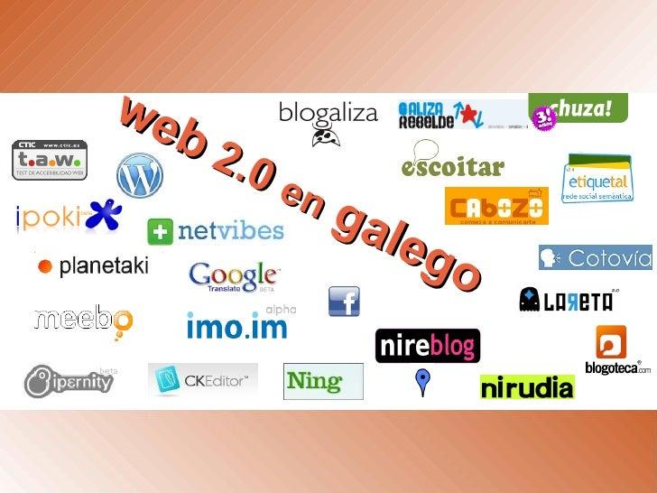 web  2.0  en   galego