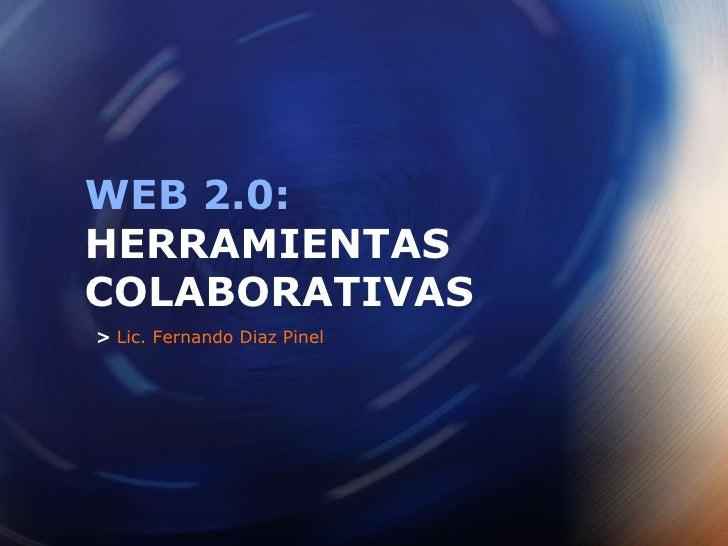 Web 20 herramientas colaborativas