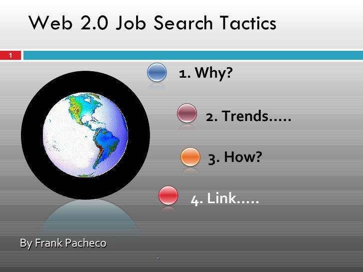 Web 2.0 Job Search Tactics