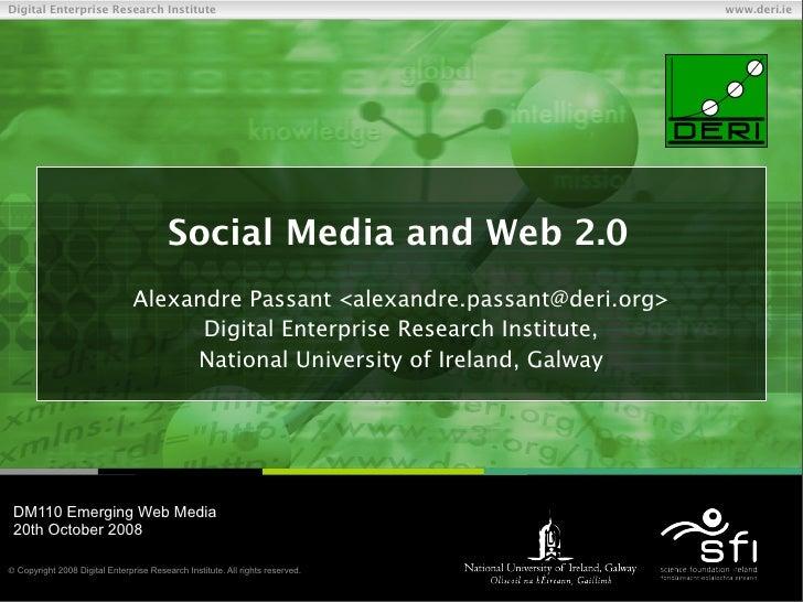 Social Media and Web 2.0