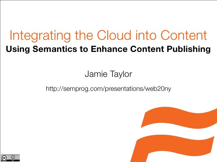 Using Semantics to Enhance Content Publishing