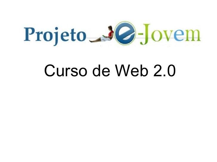 Curso de Web 2.0