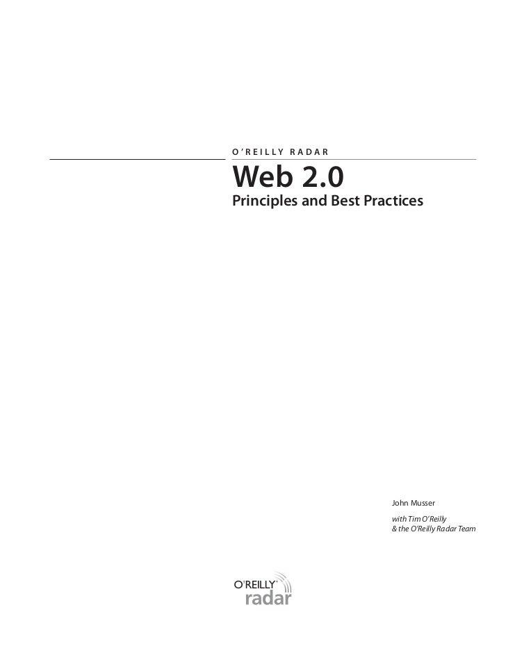 Web20 report excerpt