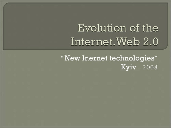 """ New Inernet technologies "" Kyiv  - 2008"
