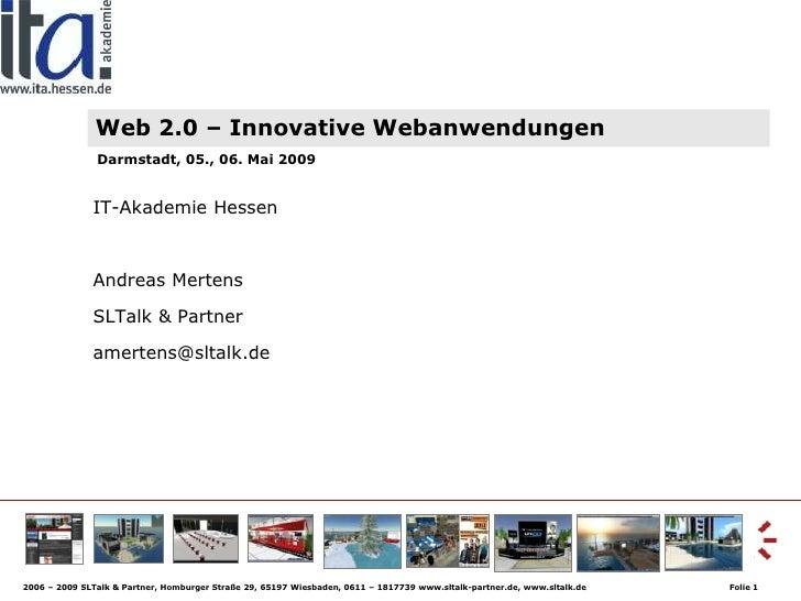 Web20 Lehrerkurs
