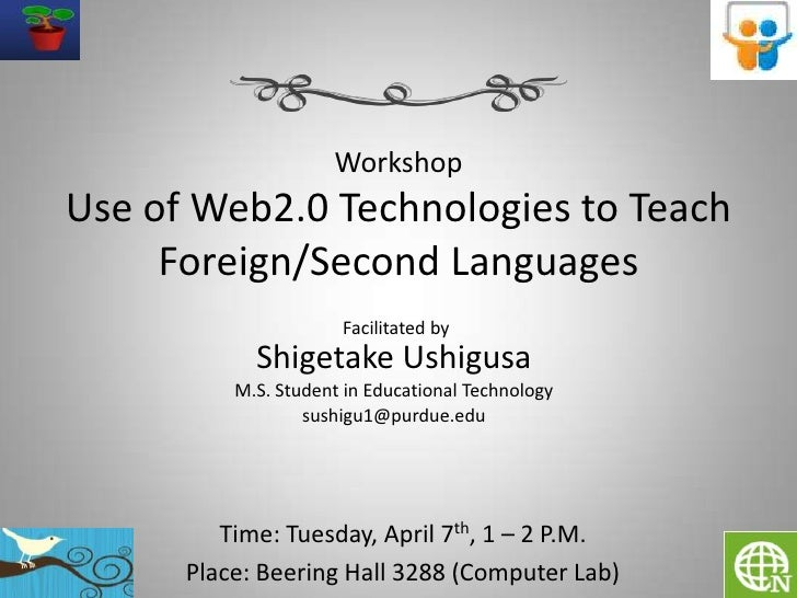 Web20 Tech And Foreign Language Learning