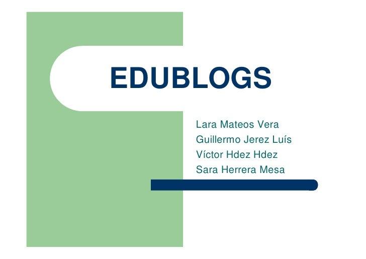 Web20 Y CreacióN De Blogs Uah