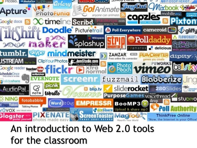 An introduction to Web 2.0 tools for the classroom