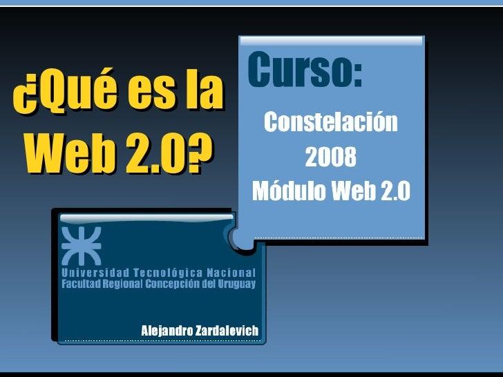 ¿Qué es la Web 2.0?