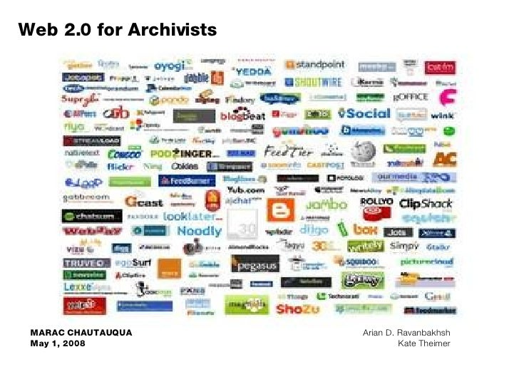 Web 2.0 for Archivists, Powerpoint Version