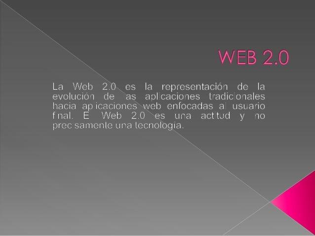  para entender de donde viene el término de Web 2.0 tenemos que remontarnos al momento en que Dale Dougherty de O'Reilly ...