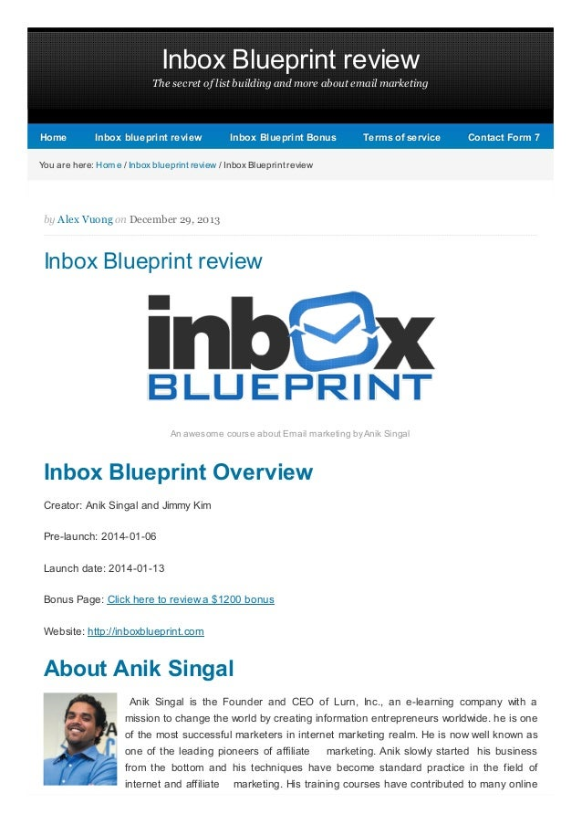 Inbox Blueprint review The secret of list building and more about email marketing  Home  Inbox blueprint review  Inbox Blu...