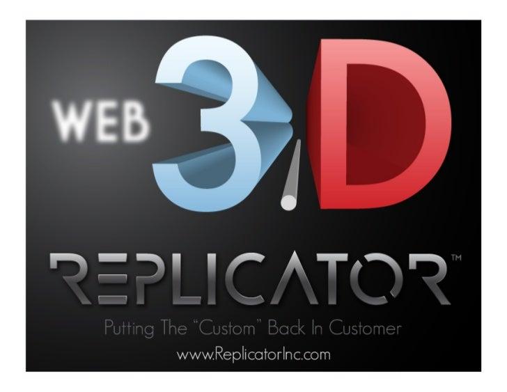 Web 3.D Presentation