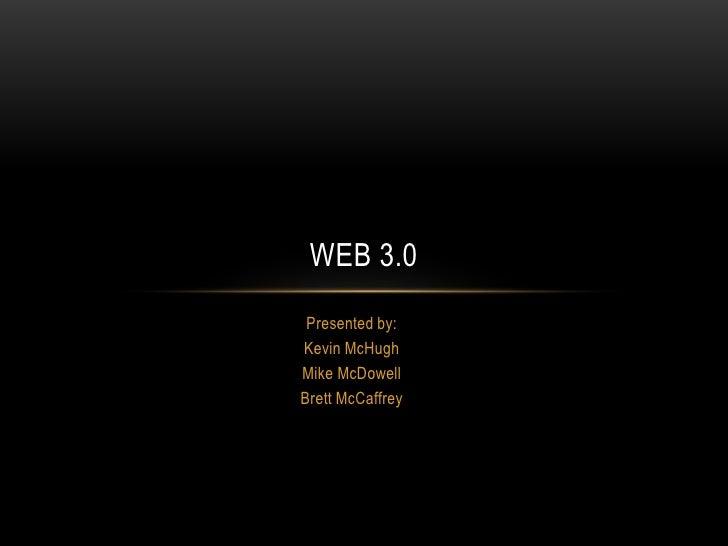 Web 3.0 presentation