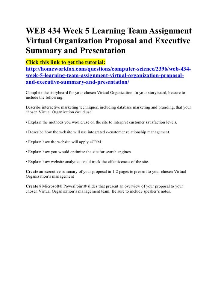 a executive summary on web site proposal Executive summary- project simon background this proposal was developed in response to numerous requests for intranet functionality and in response to usage data and feedback from users about the university's public website.