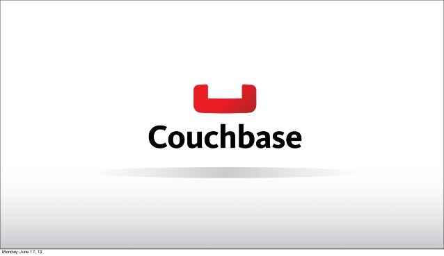 Introduction to NoSQL with Couchbase