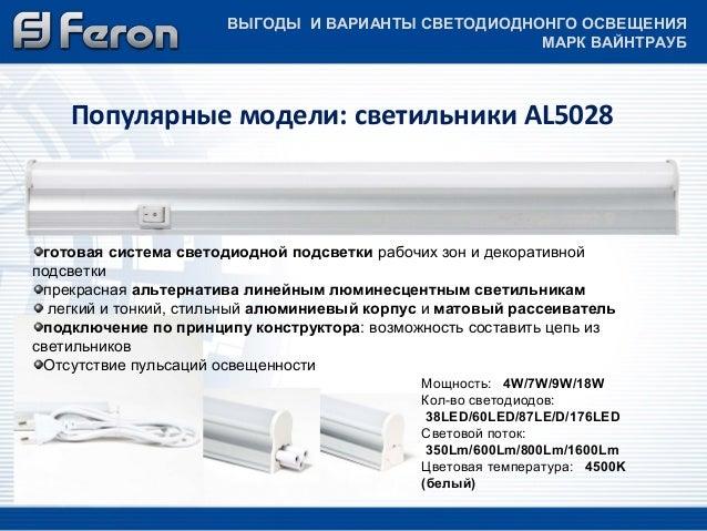 светильники AL5028 готовая