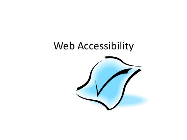 Web Accessibility Top 10 - LCC (1/2 day workshop, August 2013)