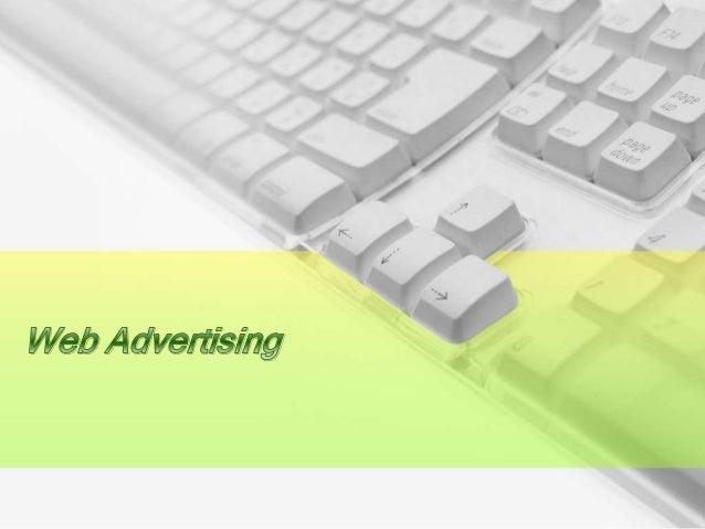 Web advertsisng