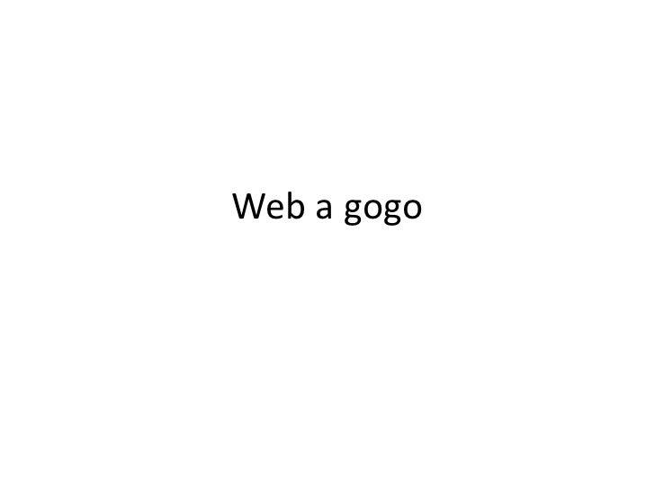 Web a gogo