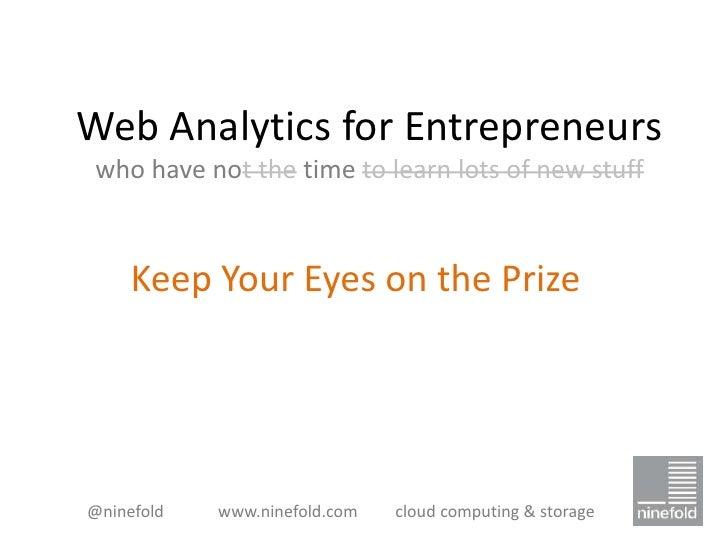 Ninefold - Web analytics for entrepreneurs