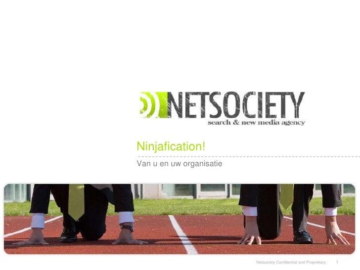 Web Analytics In Uw Organisatie