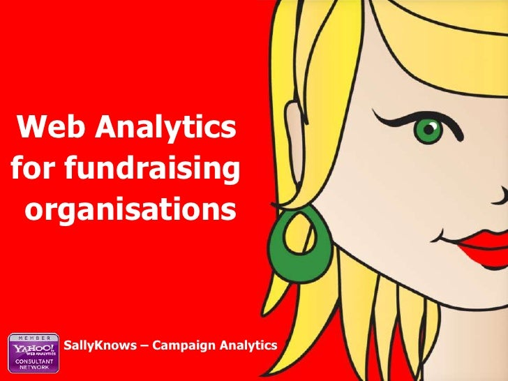 Web Analytics <br />for fundraising <br />organisations<br />SallyKnows – Campaign Analytics<br />