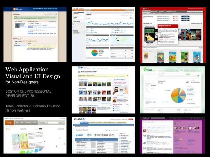 Web Application Visual Design for Non-Designers