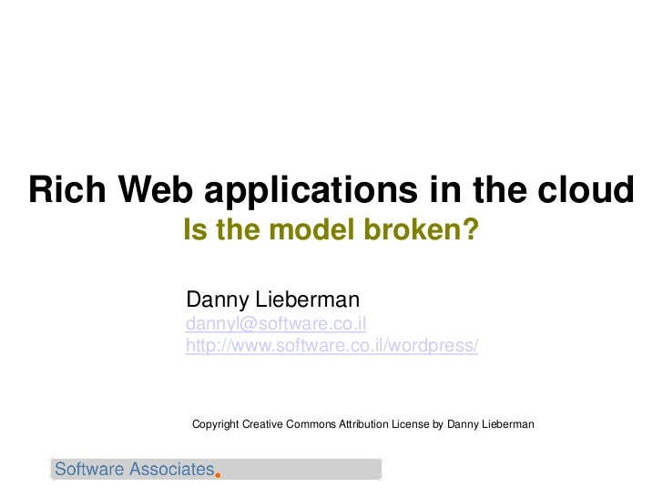 Web application security in the cloud
