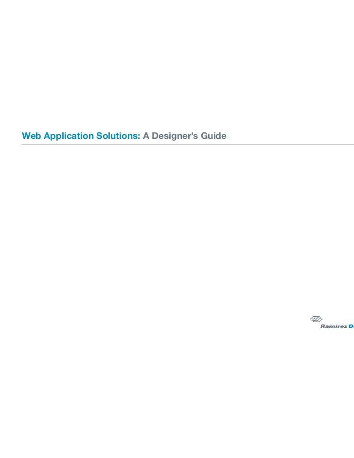 Web applicationsolutions