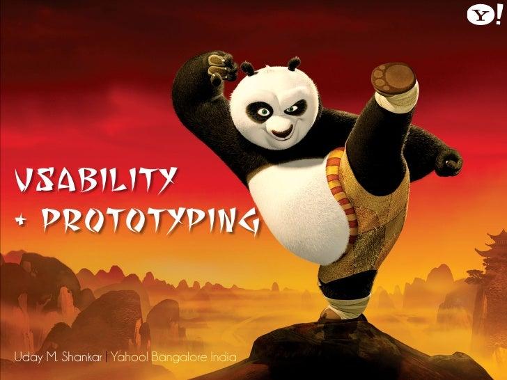 Usability & Prototyping
