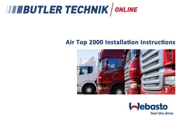 Luftheizgeräte Air heaters Appareils de chauffage à air chaud  Einbauanweisung Installation instructions Notice de montage...