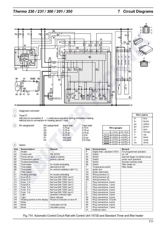 Webasto Thermo 230  300  350 Workshop Manual