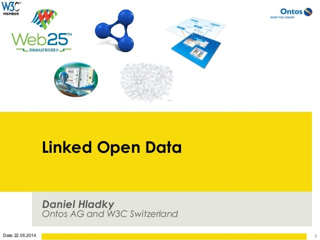 Date 22.05.2014 Linked Open Data Daniel Hladky Ontos AG and W3C Switzerland 1