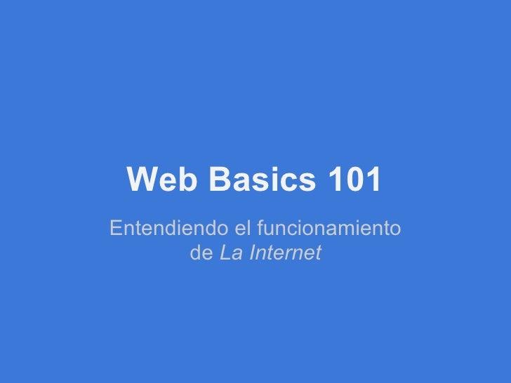 Web basics101