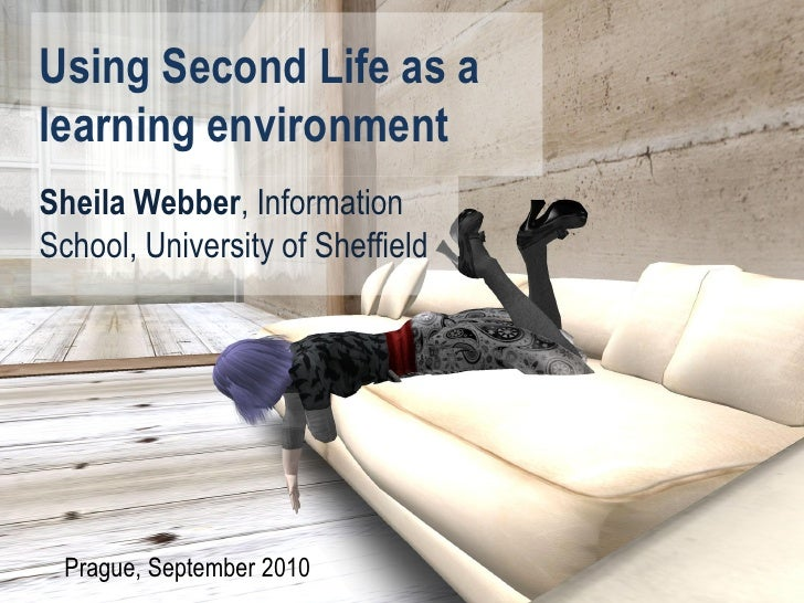 Using Second Life as a learning environment