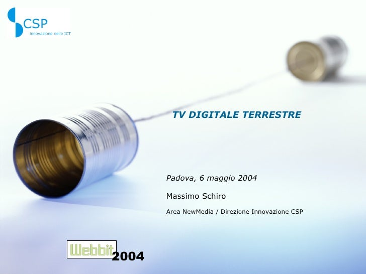 Webbit TV digitale terrestre