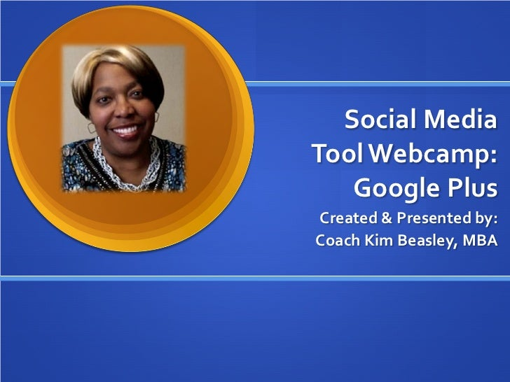 Google Plus Training - Getting Started