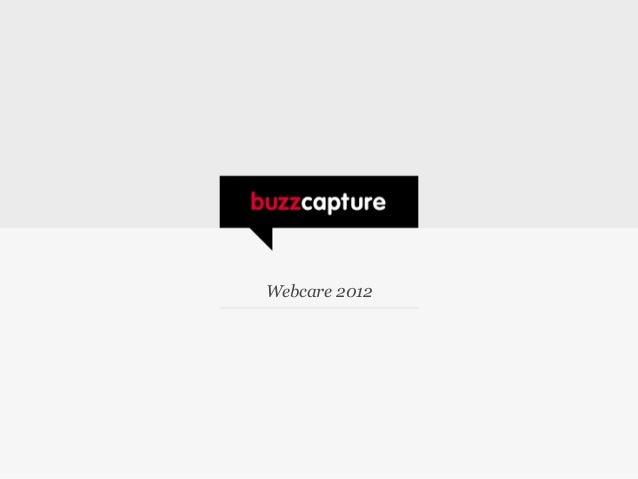Buzzcare presentaties webcareteams 29 november 2012